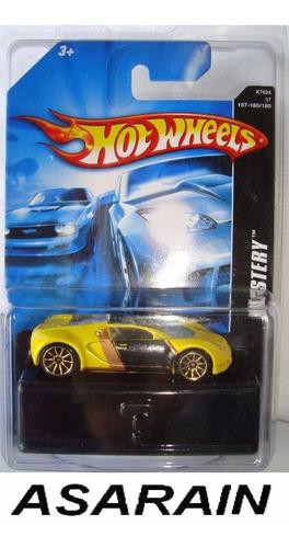 bugatti veyron mystery car  hot wheels 1/64