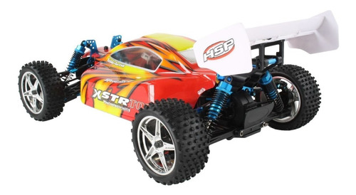 buggy auto rc brushless 4x4 radiocontrol 1/10 hsp 94107 top