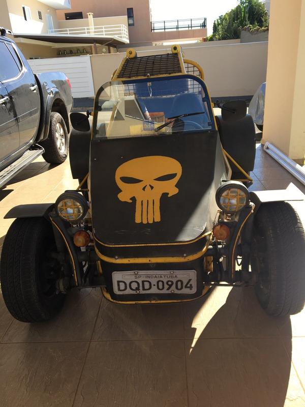 buggy - gaiola vw fusca 1.600 cc