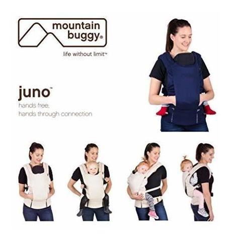 buggy mountain juno carrier bundle, navy nautical stripe