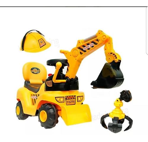 buggy niño tractor con pala retro ml252