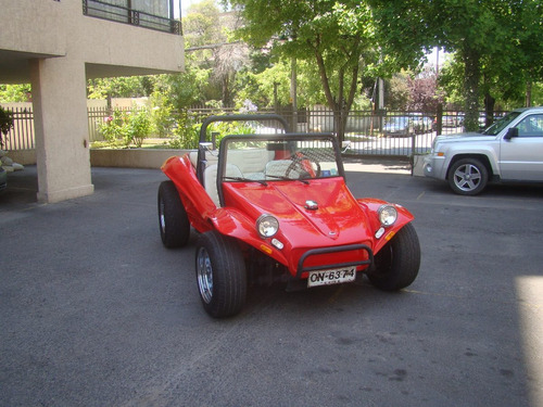 buggy volkswagen escarabajo descapotable california rojo
