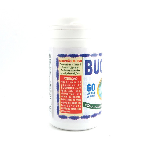 bugroon 500mg 60 cápsulas
