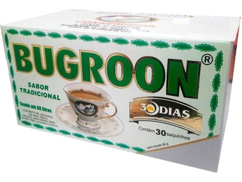 bugroon chá misto original emagrecedor 30 saquinhos 80g