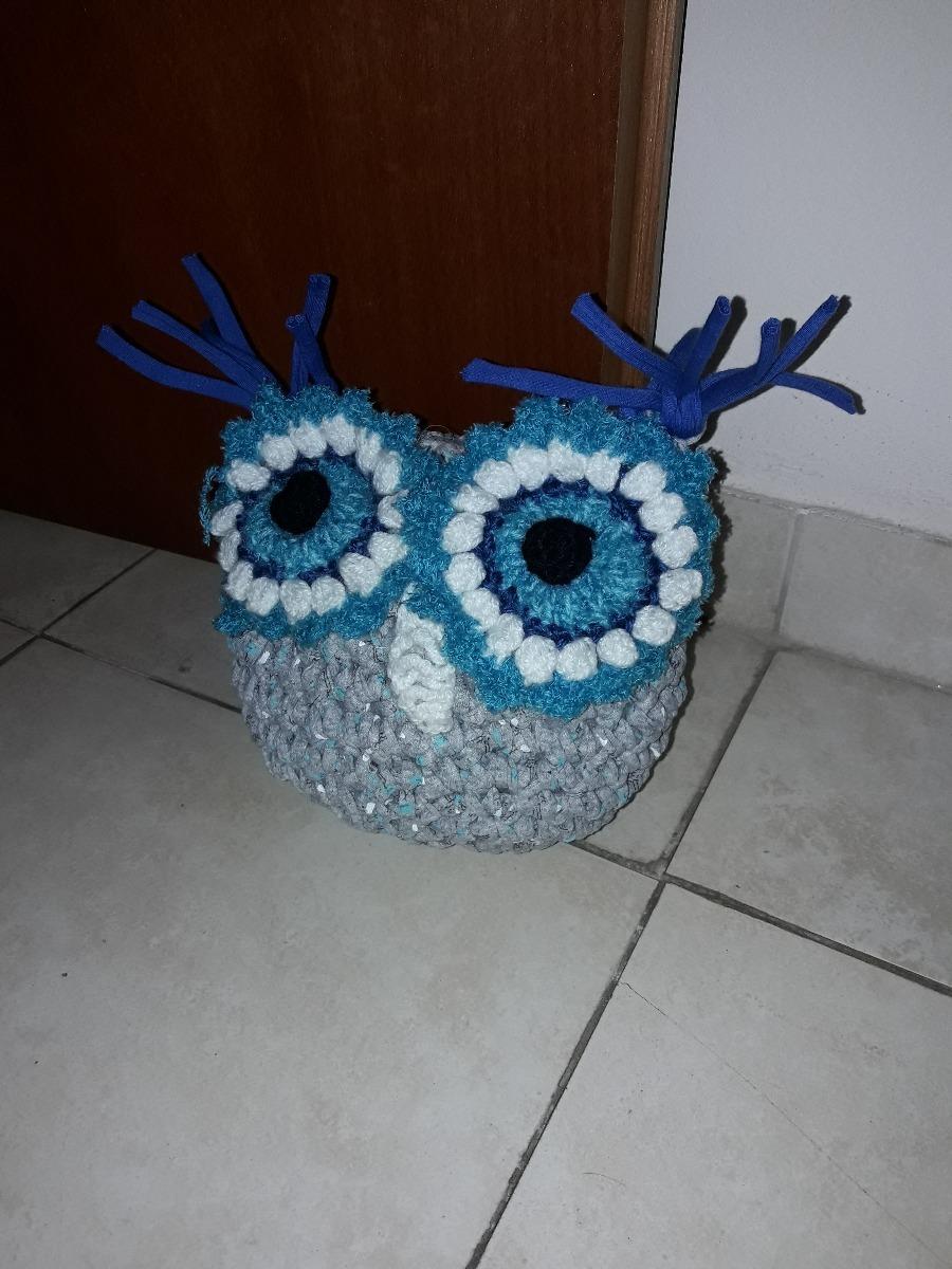 Buho Sujeta Puertas Tejido Al Crochet - $ 250,00 en Mercado Libre
