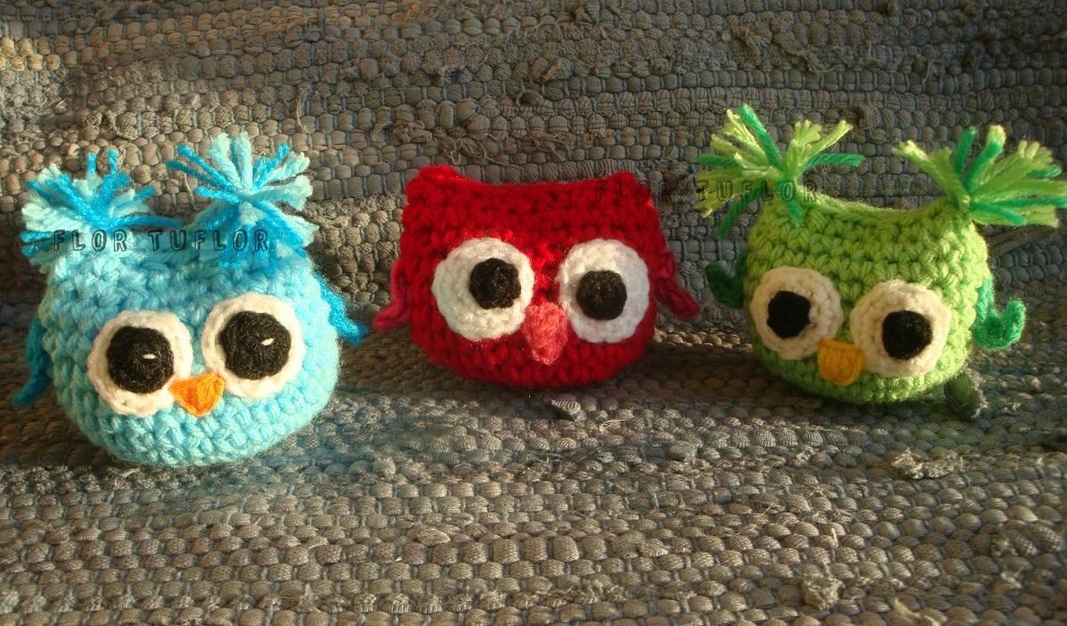 Amigurumi llavero de buho : Buhos lechuzas tejidos al crochet amigurumis souvenirs