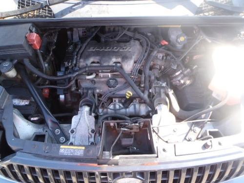 buick rendezvous 2004 chocada se vende completa o en partes