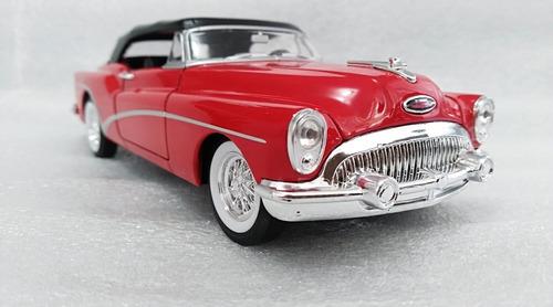 buick skylark modelo 1953. escala 1/24, 18cms de largo metal