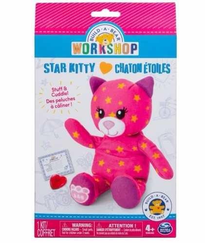 NEW Build A Bear Workshop star kitty chaton etoiles Stuff /& Cuddle