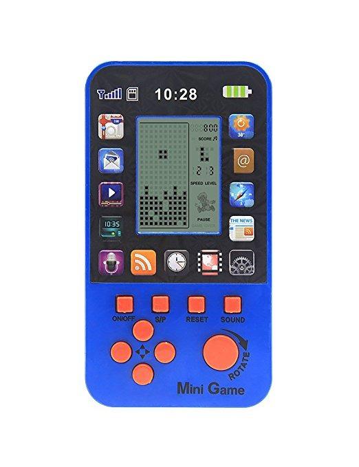 Built In 23 Juegos Juguete Retro Tetris Consola De Juegos Ju