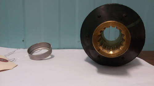 buje de goma para propelas evinrude con su anillo original