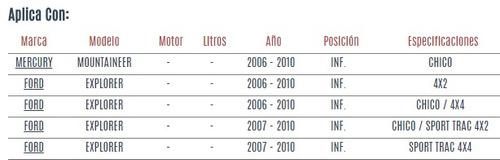 buje de horquilla inf mercury mountaineer 2006 - 2010 vzl