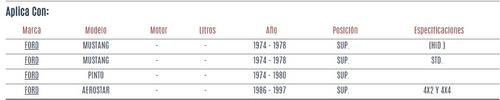 buje de horquilla superior ford aerostar 1986 - 1997 vzl