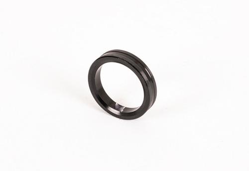 buje separador de rueda ø17x5 para karting color negro