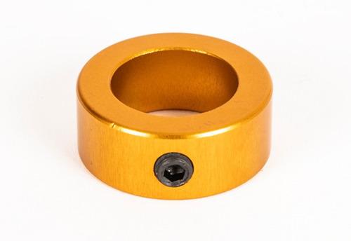 buje tope columna de dirección para karting color dorado ø20