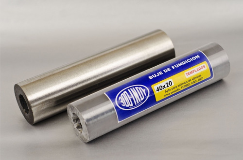 buje/tubo de fundición para reparación en tornería 40x20x200