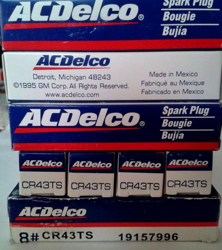 bujia acdelco cr43ts 19157996