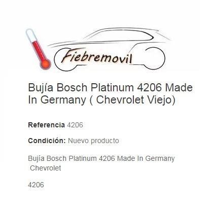 Bosch Bujía Encendido Motor Repuesto Para Suzuki Vitara 88-98 1.6