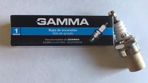 bujia gamma encendido p/ desmalezadora caja x 10 un g19555ac