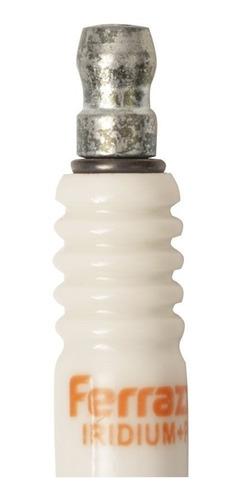 bujía iridium + platino ford ka 1.3