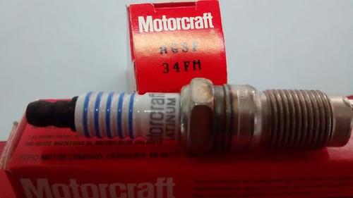 bujía para f100 98/08 4.2l 6cil  motorcraft agsf34fm platino