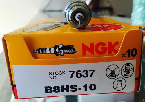 bujia para motores fuera de borda ngk b8hs-10