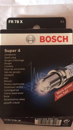 bujias bosch super 4 fr78x daewoo leganza l4 2.0l sohc 8v