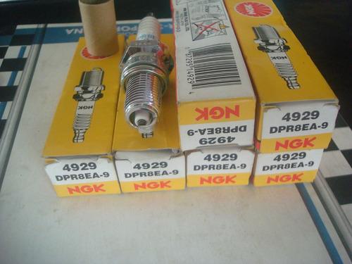 bujias moto klr 650 gs500 vt600 ngk 4929 dpr8ea-9 (japan)