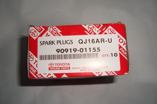 bujias original toyota para corolla 1.6 90-98 carburado