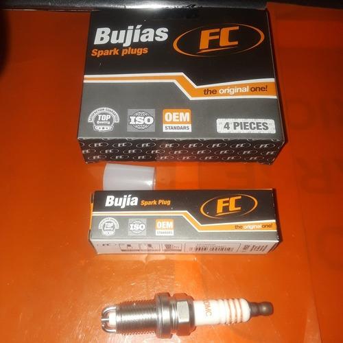 bujias renault logan clio symbol kangoo scenic 2 electrodo