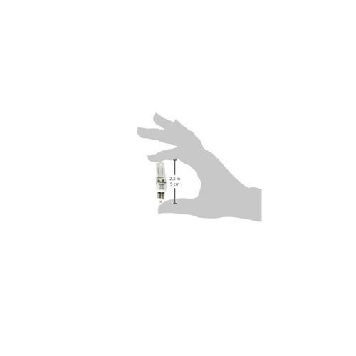 bulbite q100cl / mc-10pk 100w 120v halógena jd tipo mini-bom
