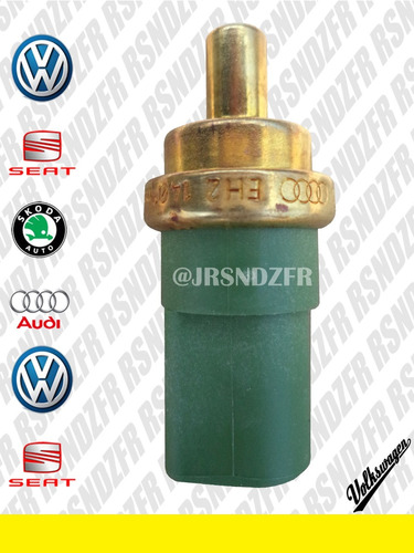 bulbo de temperatura verde original vw beetle golf jetta a4