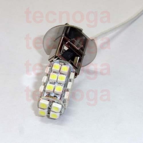 bulbo h3 de 28 leds ultrabrillante luz blanca led faro i210