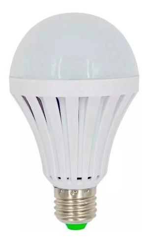 bulbo led 12w lampara y luz emergencia 4 hs