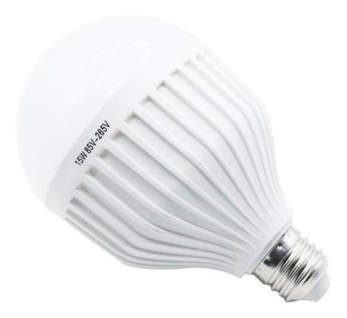 bulbo led 15w funcion luz de emergencia y luz comun