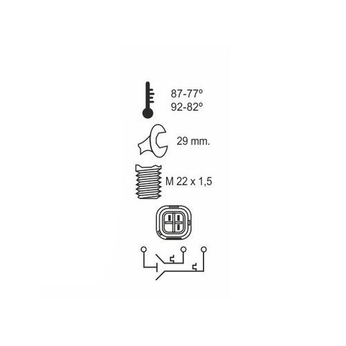 bulbo temperatura electro renault megane 1.9 dti