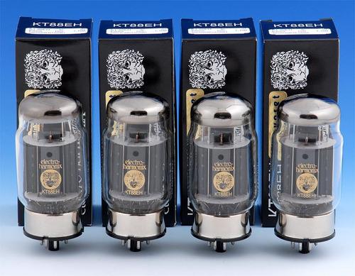 bulbos electroharmonix 12ay7 6ca7 7591 originales nuevos