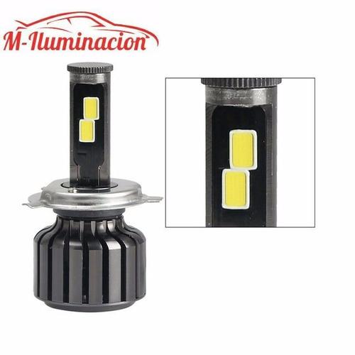 bulbos focos kit led hid xenón 10,000lm 45w h4 h13 9004 9007