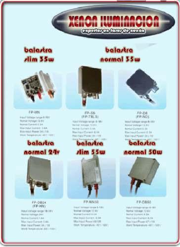 bulbos y balastra kit hid xenon repuesto sencillo y bixenon