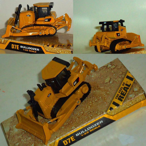 buldozer caterpilar cat metalico escala 1:83 die cast