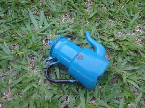 bule antigo azul 22