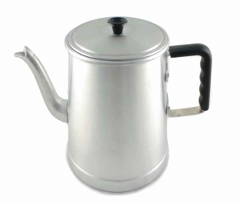 bule café cozinha industrial alumínio cabo baquelite 4 5 lts r
