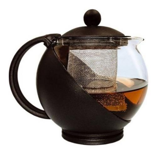 bule chaleira jarra chá com infusor vidro 750 ml