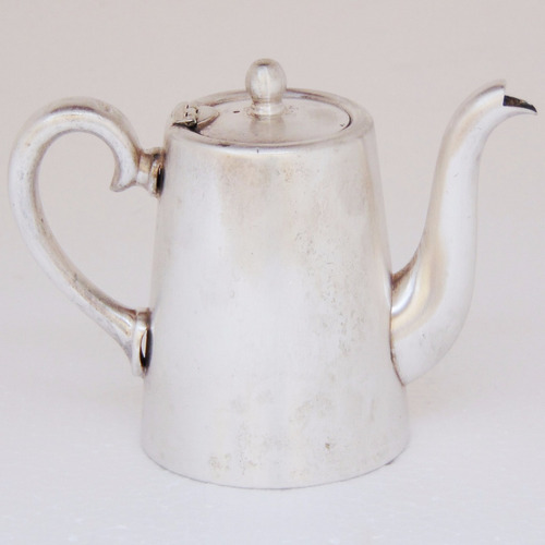 bule fracalanza prata 90 café leite chá cozinha decorativo