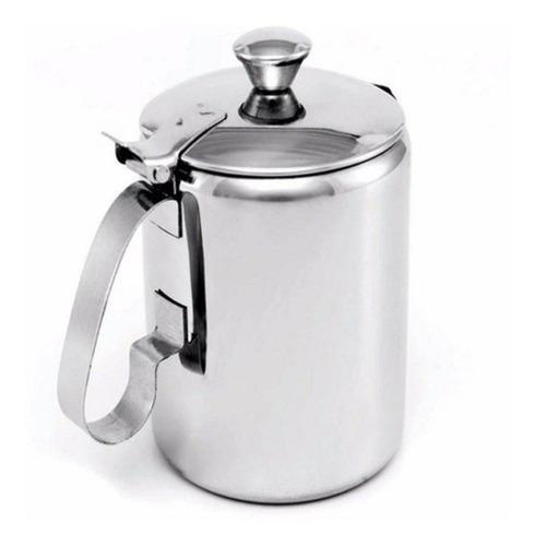 bule para leite aço inox 600ml