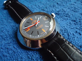 Vintage Reloj Automatico Buler Suizo Buler Vintage Reloj N0vwmn8