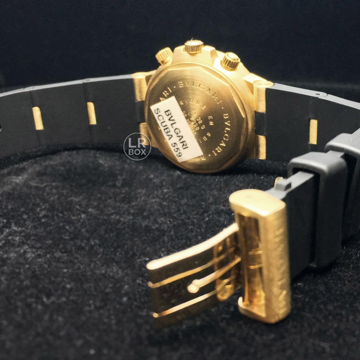 987c0f8b309 bulgari diagono scuba ouro 18k bvlgari. Carregando zoom.