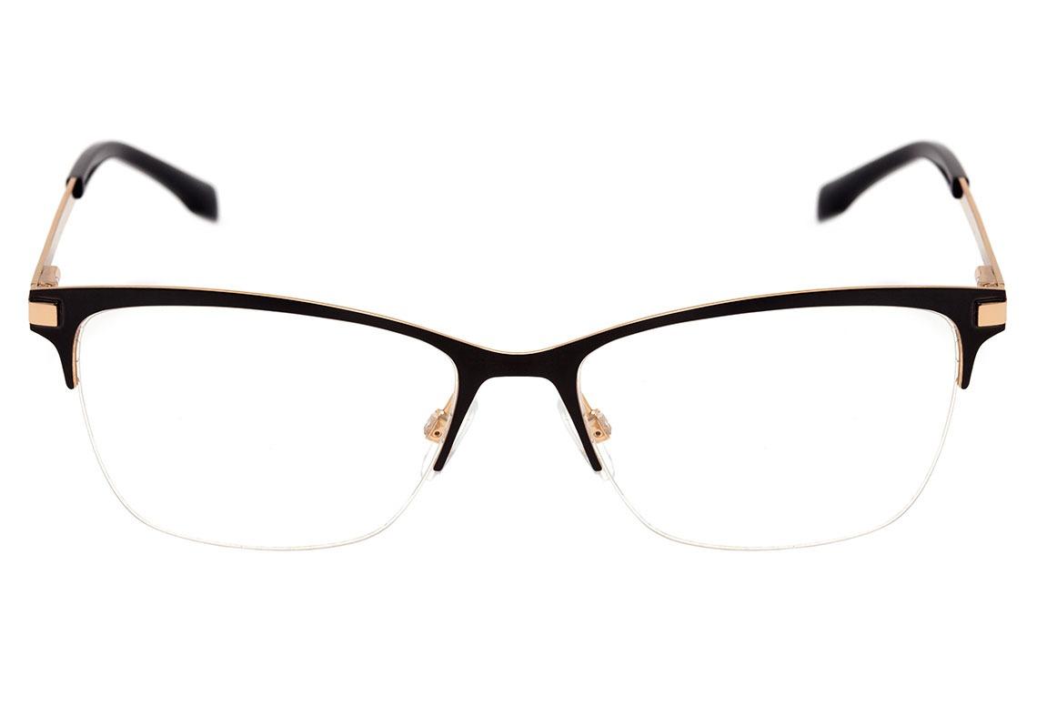 bulget bg 1550 - óculos de grau 09a preto fosco e dourado. Carregando zoom. 44c1560630
