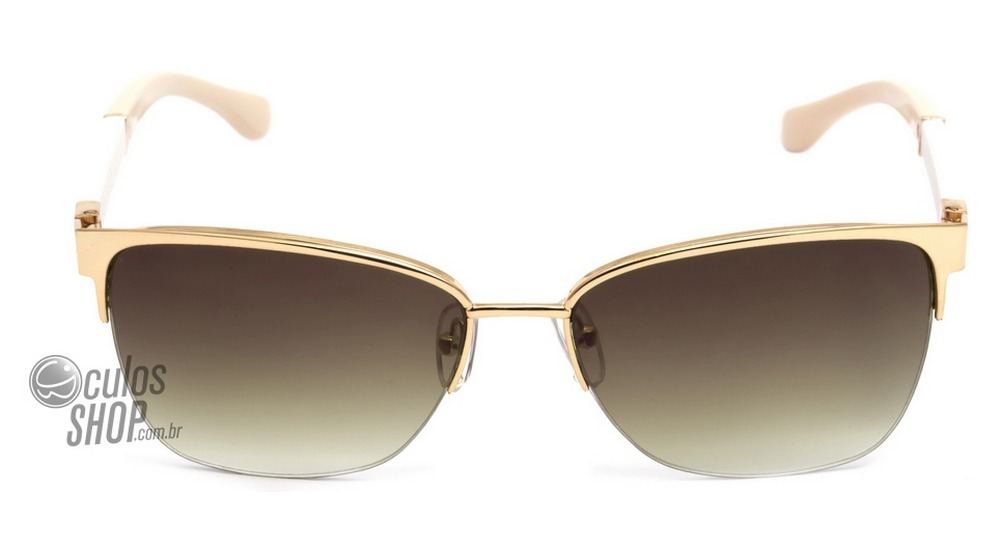3dc21abc7 bulget bg 3113 - óculos de sol 04a dourado branco e creme/. Carregando zoom.