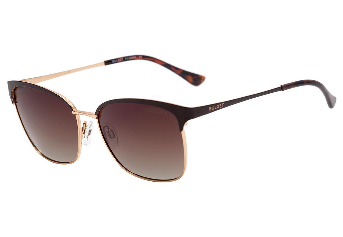 bulget bg 3188 - óculos de sol 01b marrom fosco e dourado. Carregando zoom. d1952c564c
